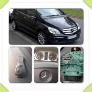 Mercedes B rezervni ključ