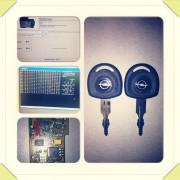 Opel Astra igubljeni svi ključevi