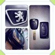 Peugeot 207 rezervni ključ
