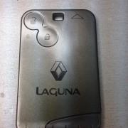 Renault Laguna rezervna kartica