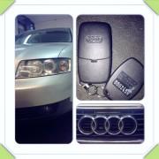 Audi A4 ključ+RFID blokada motora