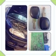 Renault Laguna izgubljeni ključevi