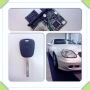 Mercedes SLK rezervni ključ