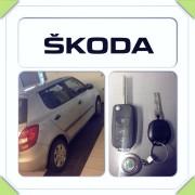 Škoda Fabia 2011a rezervni ključ