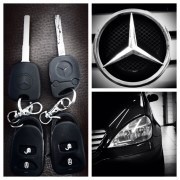 Mercedes A klasa rezervni ključ