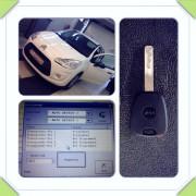 Citroen C3 2010a rezervni ključ